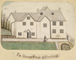 The Vicarage House at Northleach [Gloucestershire]